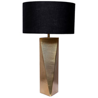 Moes Home Collection OD-1018-32 Marin 24 inch 60 watt Gold/Black Table Lamp Portable Light