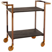 Manhattan Copper Bar Cart