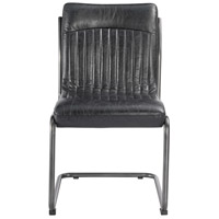 Moe's Home Collection PK-1043-02 Ansel Black Dining Chair, Set of 2