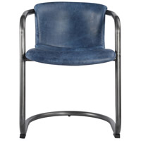 Moe's Home Collection PK-1059-19 Freeman Blue Dining Chair, Set of 2