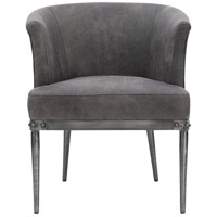 Luther Black Accent Chair