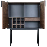 Yasmin Brown Bar Cabinet