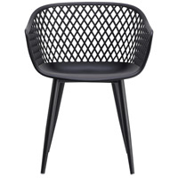 Piazza Black Outdoor Chair, Set of 2