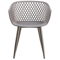 Moe's Home Collection QX-1001-15 Piazza Grey Outdoor Chair, Set of 2 alternative photo thumbnail