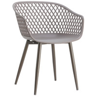 Moe's Home Collection QX-1001-15 Piazza Grey Outdoor Chair, Set of 2 photo thumbnail