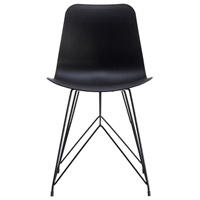 Esterno Black Outdoor Chair, Set of 2