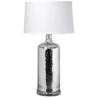 Moes Home Collection RM-1043-30 Briggs 28 inch 60 watt Silver Table Lamp Portable Light