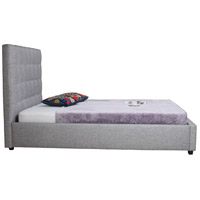 Belle Light Grey Storage Bed, Queen