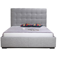 Belle Light Grey Storage Bed, King