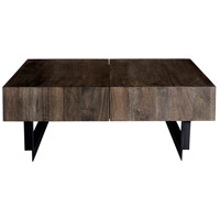 Moe's Home Collection SR-1018-24 Tiburon 43 X 33 inch Natural Storage Coffee Table