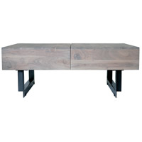 Moe's Home Collection SR-1018-29 Tiburon 42 X 32 inch Pale Grey Storage Coffee Table