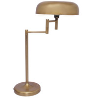Moes Home Collection TB-2028-32 Junius 27 inch 60 watt Gold Table Lamp Portable Light