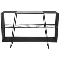 Nocturno Black Floor Display Shelf