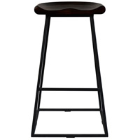 Jackman 29 inch Dark Brown Bar Stool, Set of 2