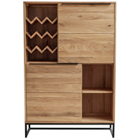 Nevada Brown Bar Cabinet