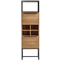 Nevada Brown Bar Cabinet, Tall