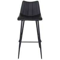 Alibi 42 inch Matte Black Bar Stool, Set of 2