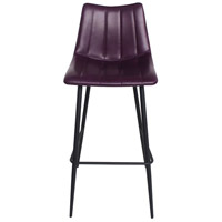 Alibi 42 inch Purple Bar Stool, Set of 2