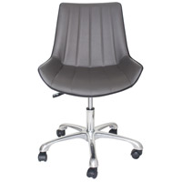 Moe's Home Collection UU-1010-41 Mack Grey Office Chair