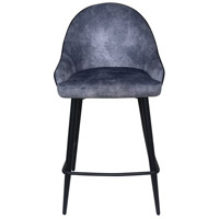 Moe's Home Collection UU-1013-15 Astbury 38 inch Grey Counter Stool photo thumbnail