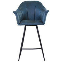 Olivier 39 inch Blue Counter Stool