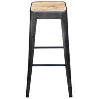 Bistro 26 inch Black Counter Stool