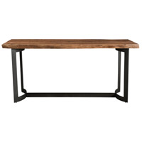 Bent Smoked Counter Table