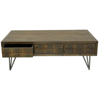 Moe's Home Collection VL-1002-20 Javadi 51 X 28 inch Dark Brown Coffee Table