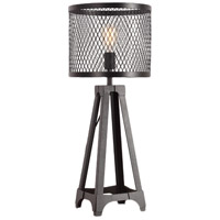 Moes Home Collection WK-1001-02 Creston 24 inch 60 watt Black Table Lamp Portable Light