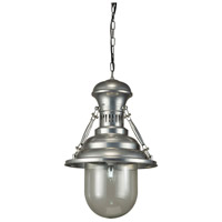 Moes Home Collection WK-1007-25 Brandt 1 Light 15 inch Pewter Pendant Ceiling Light