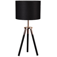 Moes Home Collection WK-1008-02 Broadway 29 inch 60 watt Black Table Lamp Portable Light