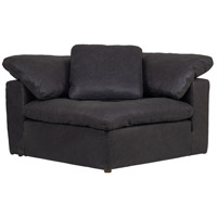 Clay Black Corner Chair