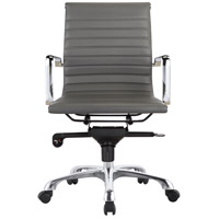 Moe's Home Collection ZM-1002-29 Omega Grey Low Back Office Chair