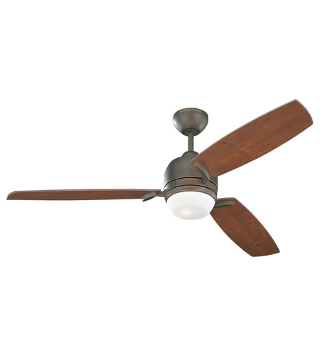 Monte Carlo Fans 3MUR52RBD Muirfield 52 inch Roman Bronze with Bavarian Walnut Blades Ceiling Fan photo