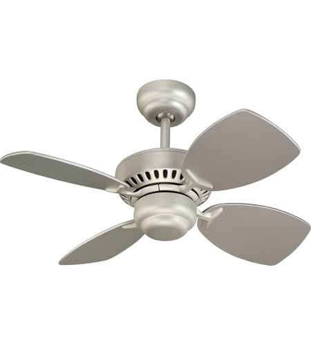 Monte Carlo Fan Company Colony II Petite Fan in Brushed Pewter 4CO28BP photo