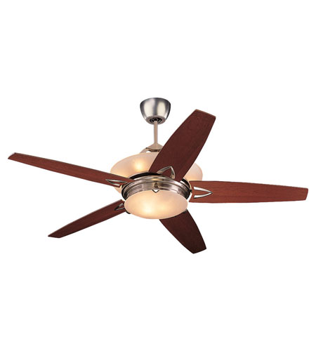 Monte Carlo Fan Company Arch 8 Light Fan in Brushed Steel 5AHR60BSD-L photo