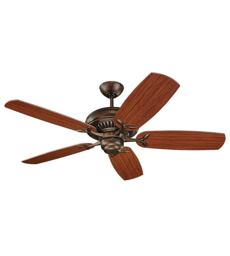 Monte Carlo Fan Company DC52 Fan in Tuscan Bronze 5DCR52TB photo
