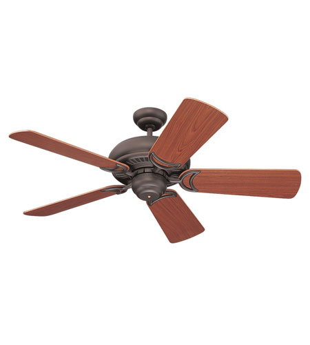 Monte Carlo Fan Company Designer Supreme II Fan in Roman Bronze 5DS44RB photo