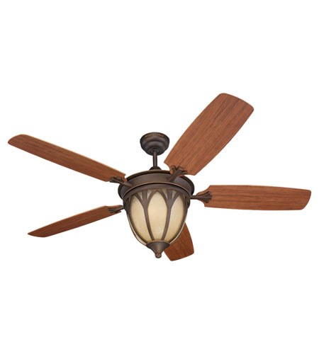 Monte Carlo Fan Company Grand Isle 3 Light Fan in Roman Bronze 5GIR54RBD-L photo