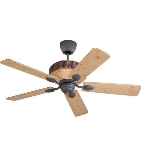 Monte Carlo Fans 5GL52WI Great Lodge 52 inch Weathered Iron with Lodge Pine Blades Fan photo