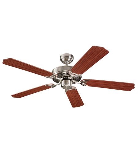 Monte Carlo Fan Company Homeowner Max Fan in Brushed Steel 5HM52BS photo