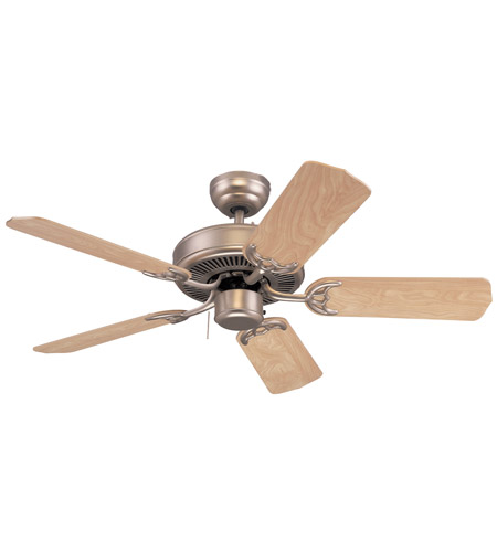 Monte Carlo Fan Company Homeowner Select II Fan in Brushed Pewter 5HS42BP photo