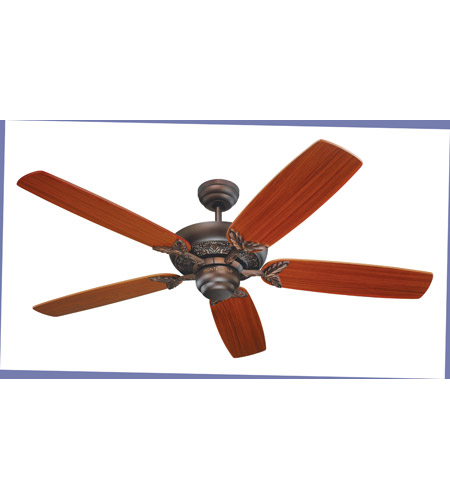 Monte Carlo Fan Company Mansion Fan in Roman Bronze 5MS52RB photo