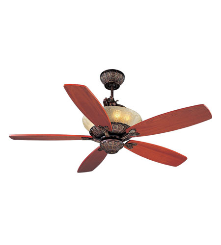 Monte Carlo Fan Company Royal Danube 6 Light Fan in Tuscan Bronze 5RDRTB photo
