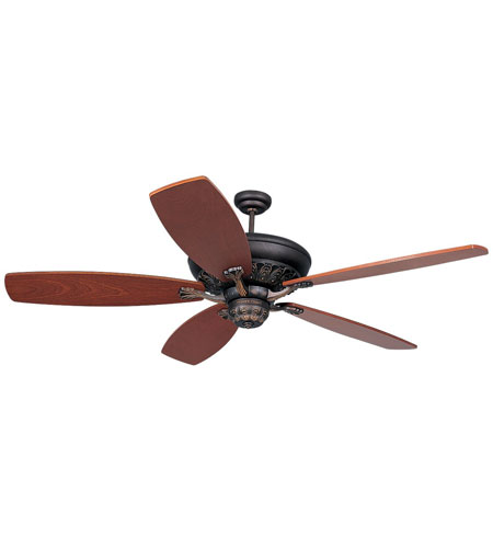 Monte Carlo Fans 5SIRB St Ives 60 inch Roman Bronze with Blades Sold Separately Ceiling Fan, Blades Separate photo