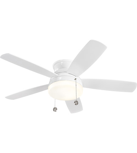 Monte Carlo Fans 5TV52WHD Traverse 52 inch White White Fan in Matte Opal photo
