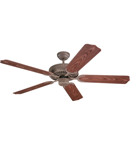Monte Carlo Fan Company Weatherford Fan in Old Chicago 5WF52OC photo