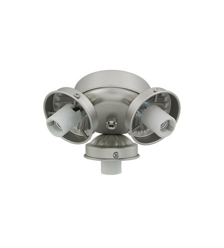 Monte Carlo Fan Company 2.25in Neck 3 Light Fitter in Brushed Pewter H3BP-L photo