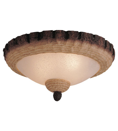 Monte Carlo Fans MC103-L Bowl 3 Light Tan Scavo Light Kit photo