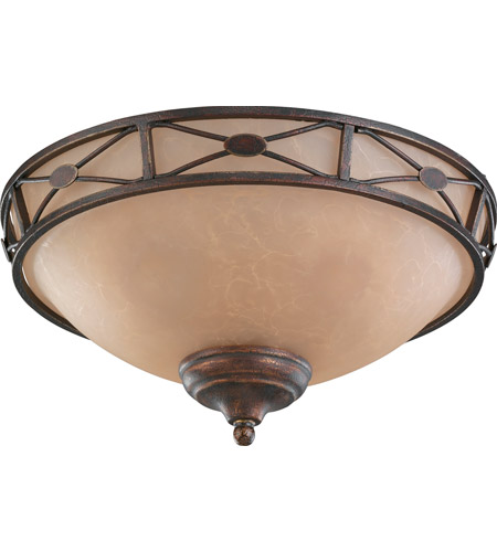 Monte Carlo Fan Company Deco Medallion Bowl 3 Light Light Kit in Tuscan Bronze MC21TB-L photo